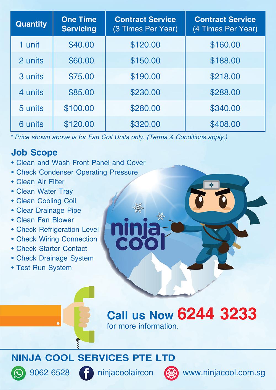 aircon promotion singapore