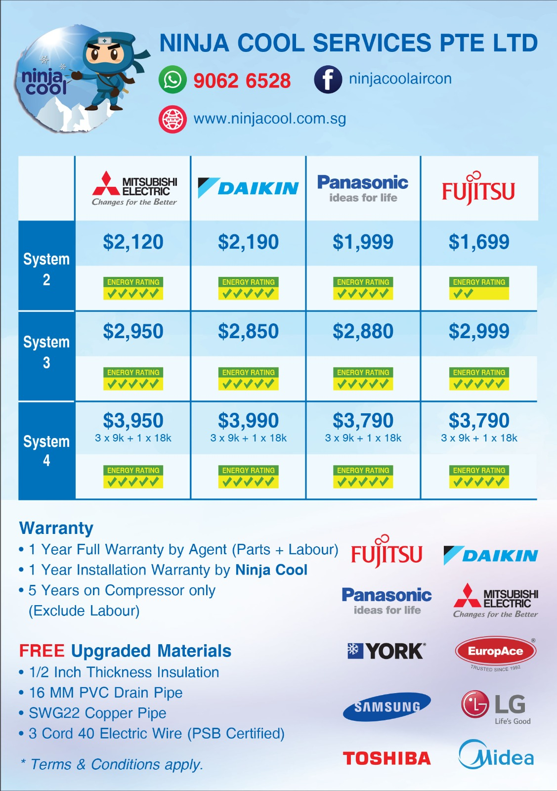 aircon promotion